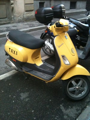 Florence Scooter Taxi