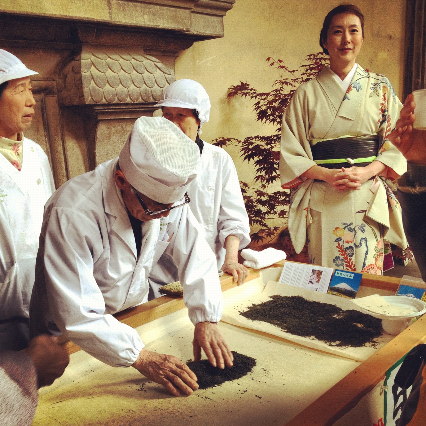 Japanese Tea At The Pitti Palace