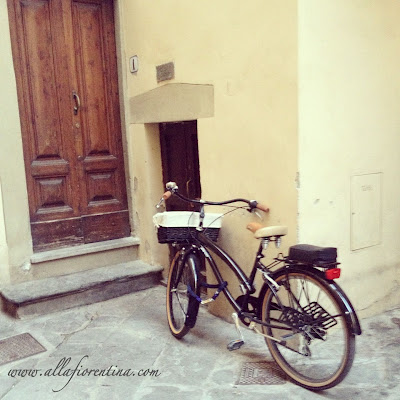 Florentine Bicycles In The Spring