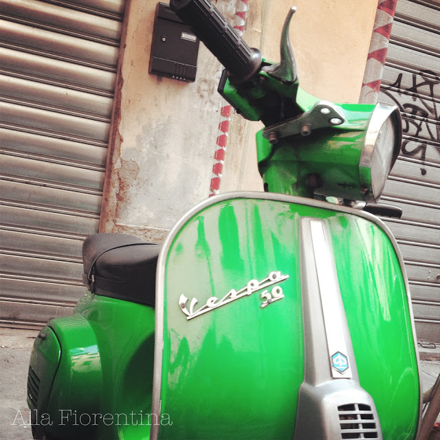 Little Green Vespa