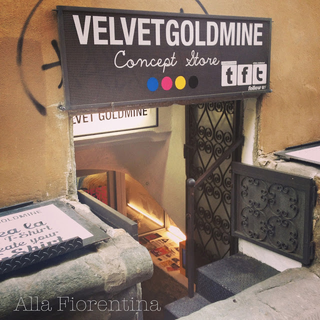Velvet Goldmine: Custom T-Shirts In Florence