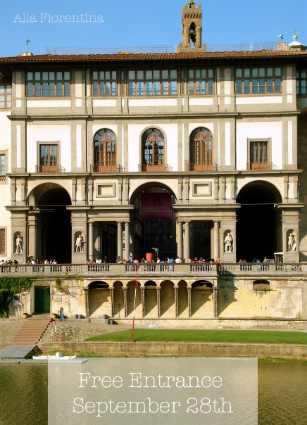 Free Museum Entrance Florence September 28 European Heritage