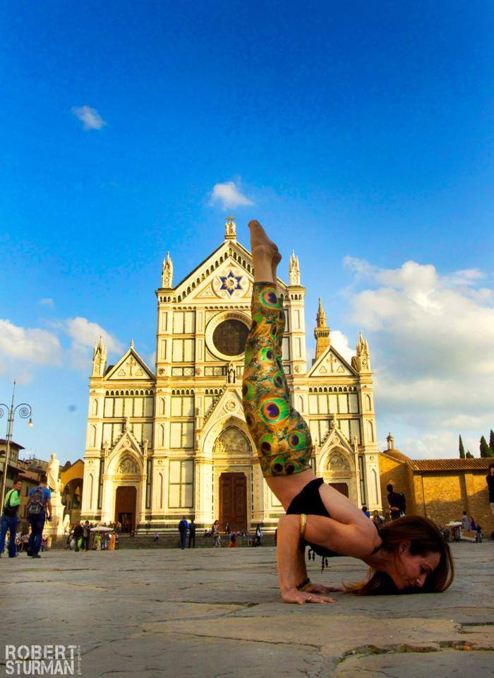 yoga in florence