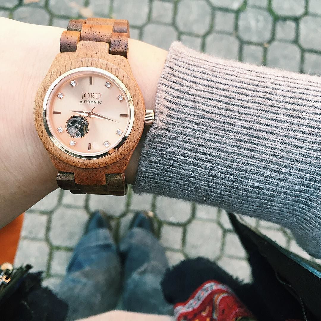 Jord Wood Watch Streetstyle